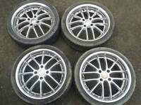 """17"""" MSW RS ALLOYS. 4X108PCD FORD PEUGEOT CITROEN RENAULT"""