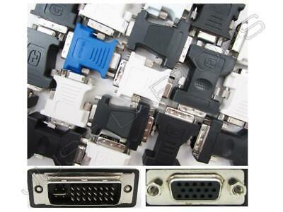 Nuevo Dvi-I Dual Link Macho A VGA Hembra Adaptador Intel Repuesto E27334-001