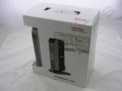 Toshiba USB Docking Station Port Replicator w/ DVI for Compaq Samsung MSI Laptop