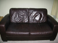 2 Seater Leather Sofa, Free Delivery in Bristol, Chepstow, Lydney