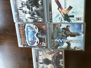 PS3 5 Game Bundle for $15 and other PS games listed individually