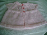 Hand Knitted Baby Vests