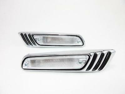 Nissan Laurel C130 front side light set clear for Skyline Kenmeri 12 NS552