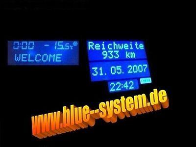 MID/TID Display Blau OPEL ASTRA G TIGRA 2/B KEIN LÖTEN online kaufen