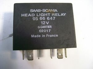 Saab 9000 1991-1998 Headlight Relay 9555547