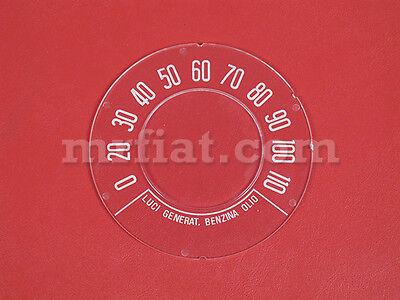 Fiat 500 D Speedometer Lens New