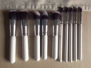 Brand New Professional Makeup Brushes. Set of 10 Kitchener / Waterloo Kitchener Area image 2