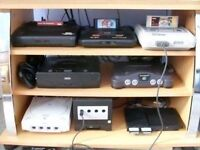 Selling loads of retro games and consoles. Snes. Nes. Sega. Master system. Megadrive. Nintendo. Game