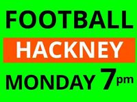 Monday 7pm - friendly football game needs players - Hackney, East London