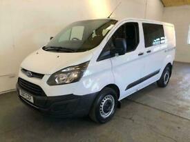 2017 Ford Transit Custom 290 130ps CREW VAN SWB BASE Manual Combi Van