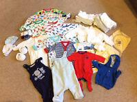 Baby clothes bundle tiny baby to newborn