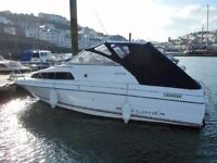 1992 bayliner 2252 classic motor cruiser 4.3 ltr engine*excellent first boat. birthed at brixham