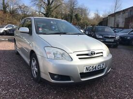 TOYOTA COROLLA 1.6 PETROL 2004 3 DOOR BREAKING FOR SPARES TEL 07814971951