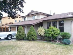 Family home for rent in central abbotsford