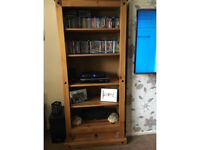 Corona Mexican pine large bookcase