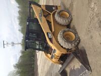 Cat skid steer 262 turbo deisel heated can low hrs
