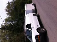 2006 chev express and cargo trailer