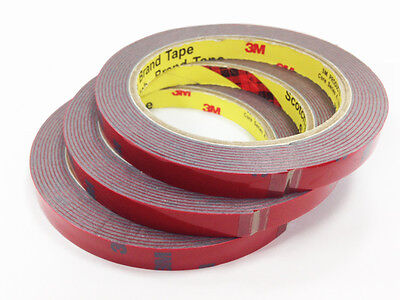 3M Double Sided Adhesive Tape (3 Rolls)