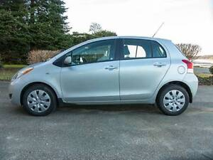 Reduced - 2009 Toyota Yaris Hatchback low kms single owner