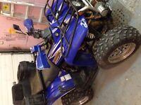 Yamaha Wolverine 350 2001
