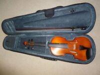 Violin 3/4 size Primavera 200 with case