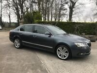 2014 Skoda Superb 2.0 TDI Elegance - Full Skoda History - Xenon - Company Owned - 2 Keys - Black Lea