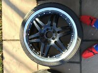 "Mag 19"" audi Volkswagen Mercedes avec pneus"