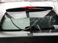 Smart Fortwo 2008-2013 Rear Lift Gate Glass With Wiper Motor