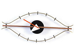George Nelson Inspired Eye Clock - George Nelson Furniture - Mid Century Clock