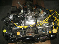 92 95 SURBARU WRX EJ20 2.0L TURBO ENGINE 5SPEED TRANS JDM EJ20