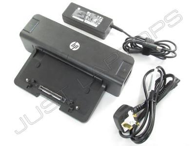 nuovo HP EliteBook 2170p 8460w 8470w USB 3.0 Docking Station + 90W adattatore AC