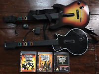 Guitar Hero Complete Set and Games