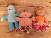 In The Night Garden plush toys