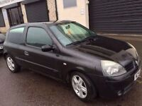Renault Clio 1.2 Extreme 2005 54 Reg 11 months mot nice clean car * privacy glass sporty seats