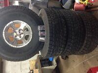35inch Toyo AT's Open Country with Rims