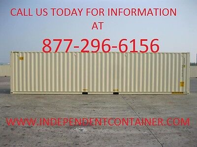 New 40 Shipping Container Cargo Container Storage Container In Dallas Texas