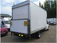Friendly Man and extra long luton Van Tail Lift From £30p/h