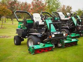 Ransomes 2250 Highway Three Gang cylinder mower - Ride on Lawn Mower – Diesel Lawnmowers