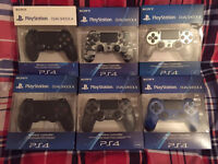SONY PLAYSTATION 4 CONTROLLER MANY COLOURS AVAILABLE - BRAND NEW & SEALED / PS4 DUALSHOCK 4