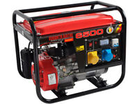 200CC / 6.5HP PETROL GENERATOR 4 STROKE FUEL CAPACITY - 15 LITRES BRAND NEW