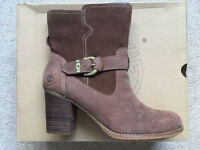 BNWT Timberland Earthkeepers Rudston Mid Wp Women UK 7 Brown Ankle Boot