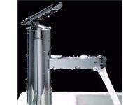 Brand New Boxed Waterfall Bathroom Basin Faucet Vanity Single Handle Sink Mixer Tap