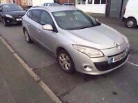 2010 10reg Renault Megane 1.5 Expression Estate £30 a year Tax