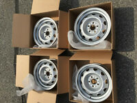"""Mopar Rally Rims 14"""" Restored to like new condition"""