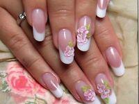 Gel nails-beauty treatments