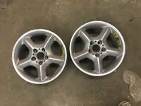 BMW X5 2003 2 SPARE MAGS 17inch
