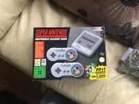 Super Nintendo snes mini new 100 game