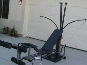 BowFleX Power PrO with Rowing gym weights exercise