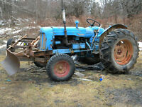 Fordson Major diesel wanted