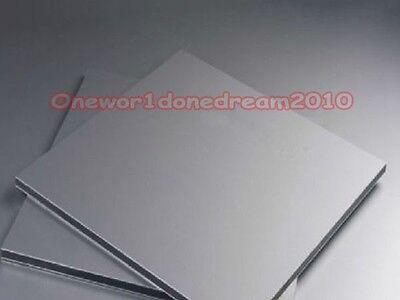 Titanium Metal Plate Titan Platte Sheet Gr.5 Gr5 Grade 5 Ti 1mm X 200mm X 200 Mm